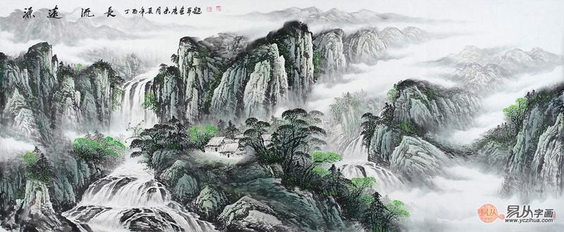 经典的风景山水画作品欣赏